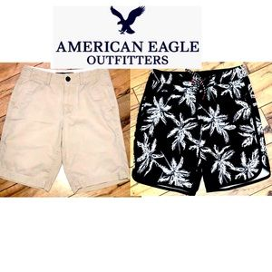 2 pairs American Eagle Shorts size 26/XS